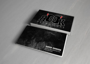 Rook Promotions Business Cards