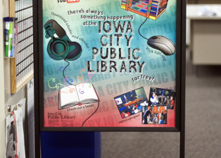 Iowa City Public Library Program Poster