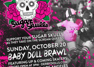 Baby Doll Brawl - Sugar Skulls